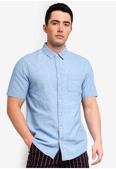 0ddc96733b37 Cotton On blue Vintage Prep Short Sleeve Shirt 3C2A7AAAB47E26GS_1