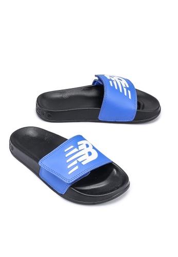 New Balance blue 200 Kids Sandals 51F48KS02C1EEEGS_1