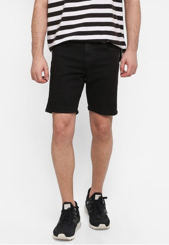 Cotton On black Skinny Straight Shorts A3309AA9FCD07AGS_1