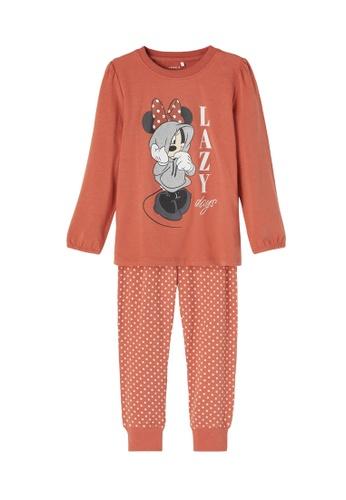 NAME IT red Minnie Night Pyjama Set 5CB71KA03571ECGS_1