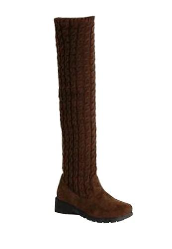 Twenty Eight Shoes 編織毛線矮跟過膝靴 VB168 TW446SH2VP09HK_1
