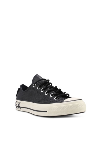 Buy Converse Chuck Taylor All Star 70 Gore-Tex Leather Ox Sneakers ... 3e73559e72507