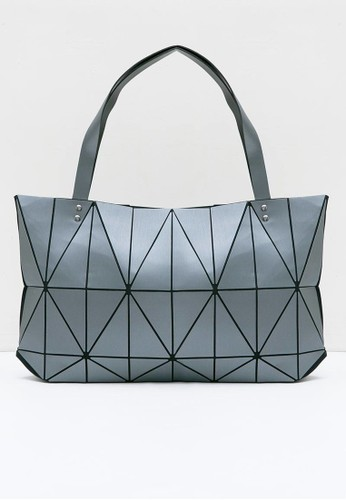 Berrybenka Label grey Chigasaki Martin Tote Bags Grey 4C716AC083FB30GS_1