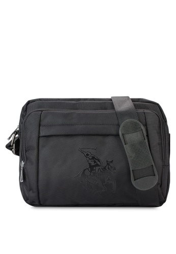 Swiss Polo black Swiss Polo Slingbag SW912AC68MGXMY_1