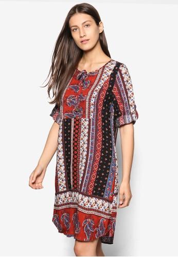 波西salon esprit米亞風直筒式洋裝, 服飾, 洋裝