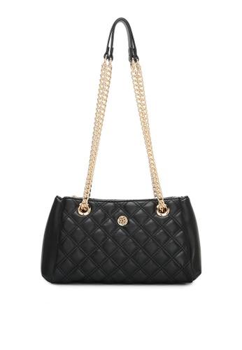 Wild Channel black Ladies Chain Sling Bag 134C8AC4BC87E3GS_1