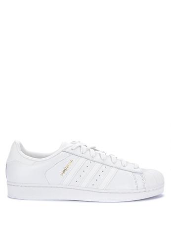 adidas white adidas originals superstar 693BFSH1F0D0B2GS_1