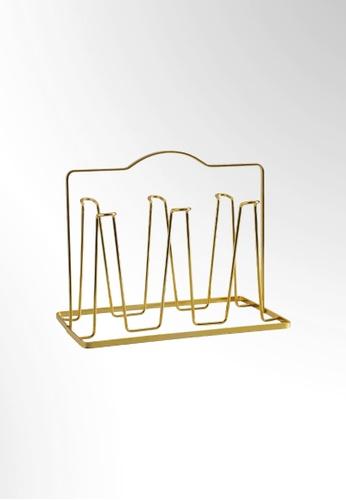 Ayra Home & Living gold Gold Mug Rack 17EB4HLAA403B2GS_1