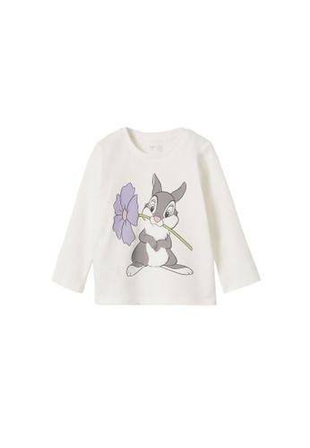 MANGO BABY white Disney Long-Sleeves T-Shirt 115F6KA7BA4922GS_1