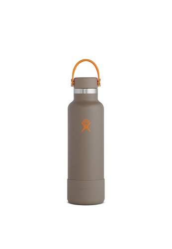 Hydro Flask grey Hydro Flask Timberline Limited Edition 21 oz Standard Mouth (621 ml) - Mushroom (Woodstove) 7FDFAHL6EF64E6GS_1