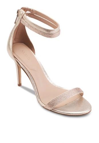 Szalora 評價herlin 一字帶繞踝高跟鞋, 女鞋, 鞋
