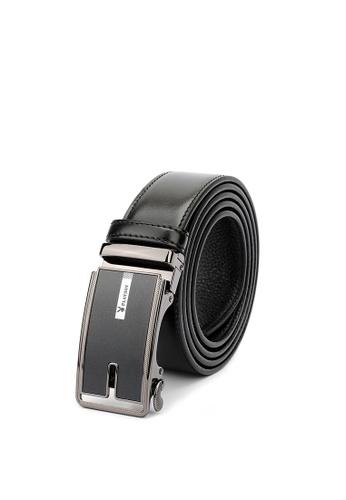 Playboy black 35mm Genuine Leather Auto Belt 8ECBEAC5ABC2F8GS_1