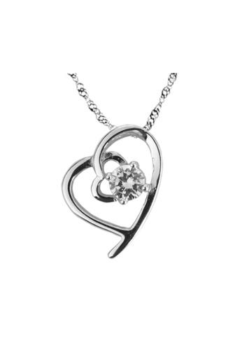Elfi silver Elfi Genuine 925 Sterling Silver Necklace Pendant SP79 EL186AC0RWRZMY_1
