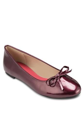 ANABELLE 蝴蝶結基本款平底鞋, 女鞋zalora 心得, 芭蕾平底鞋
