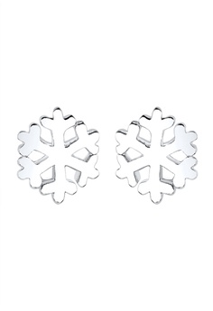 Snowflake 耳環 925 Sterling 銀