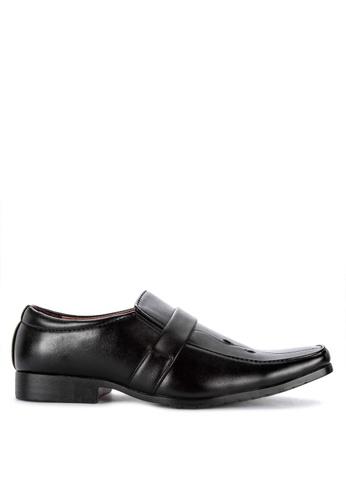 H2Ocean black Fulton Formal Slip-on Shoes F6307SH61B6C8CGS_1