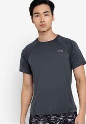 The North Face grey Better Than Naked Short Sleeve Top TH274AA22WKZMY_1