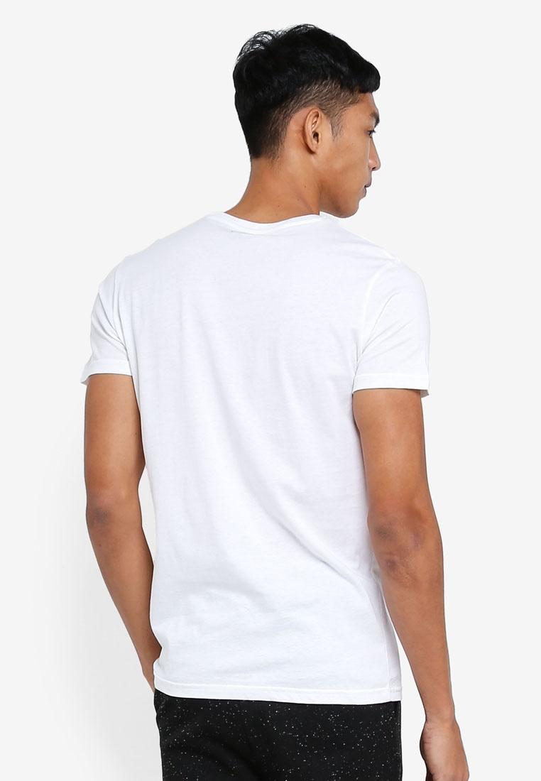 Basic Pocket T White OVS Shirts Star 7r7dqwa