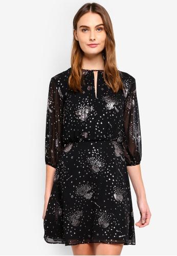 9c576104fd Sparkle Star Tie Back Dress