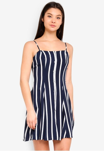 Cotton On navy Woven Krissy Dress 99302AA1C7E2C3GS_1