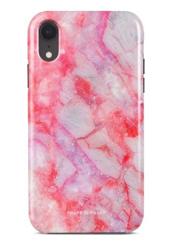 Polar Polar pink Gloaming Island Dual-Layer Tough Case Glossy For iPhone XR 7081DAC4CF2794GS_1