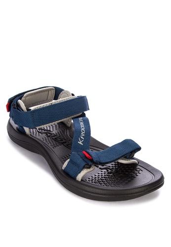 Krooberg navy Roam 3 Sandals 7221BSH38C4EC8GS_1