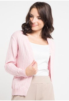 harga Cardigan Ringgo Cotton Stropes Zalora.co.id