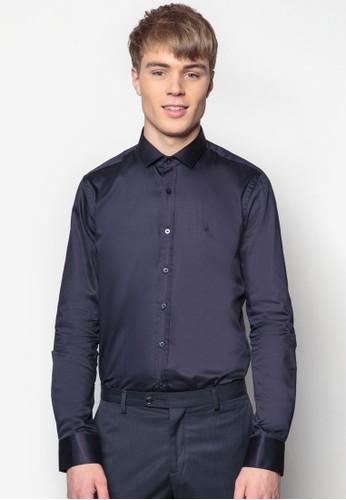 合身長袖襯衫, 服飾,esprit outlet 旺角 素色襯衫