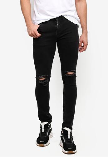 Factorie 黑色 Skinny Leg Denim Jeans 11311AA339AFF6GS_1