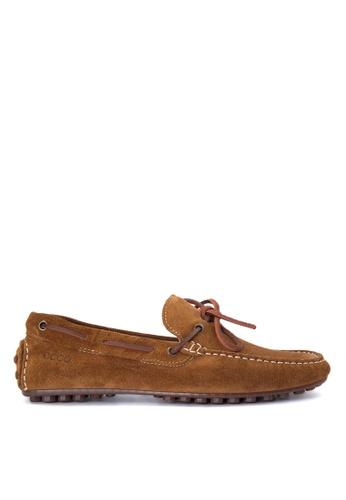 ECCO brown Hybrid B Loafers EC876SH0JC7SPH_1