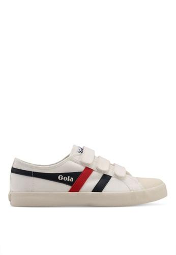 Gola white Coaster Velcro Sneakers 95C81SHB6E0135GS_1