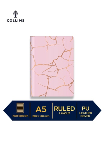 Collins pink Collins Enigma    ─  Notebook A5 Ruled Pink 5F66EHL35D7282GS_1