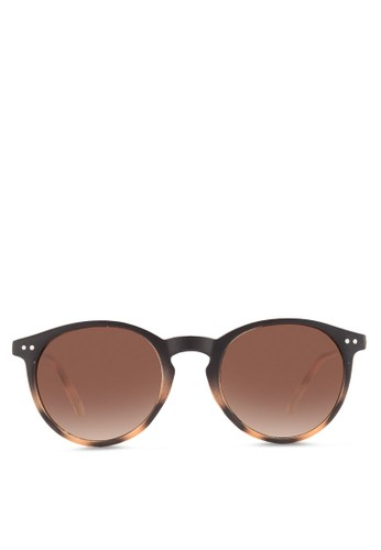 JP0159 雙色圓框太陽眼鏡, 飾品配件,esprit outlet 台灣 飾品配件