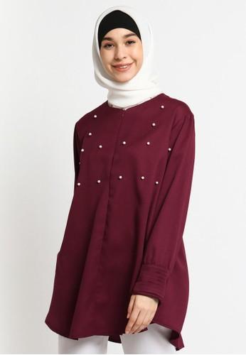 Le Najwa red Anan Tunik 80B01AA5F56A86GS_1