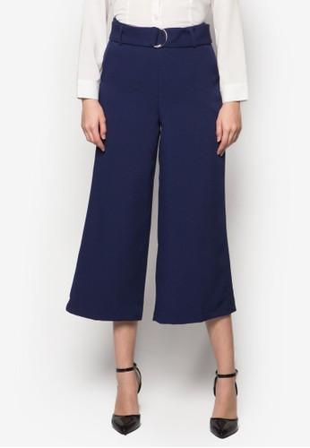Cat D 形環寬zalora時尚購物網的koumi koumi管褲, 服飾, 服飾