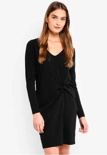 ICHI black Soon Dress 21271AAC857332GS_1