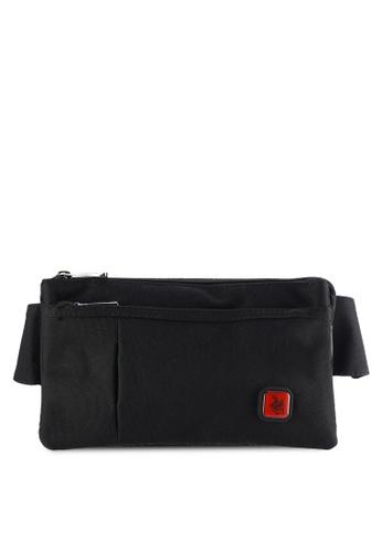 Swiss Polo black Swiss Polo Waist Bag SW912AC20PILMY_1
