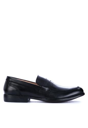 Gibi black WAX 002 Formal Shoes F1627SH64527FDGS_1