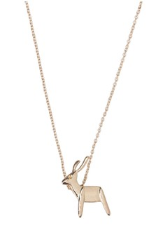 Minimalist Deer Necklace