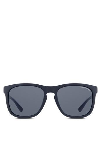 esprit暢貨中心Armani Urban Attitude 層次粗方框太陽眼鏡, 飾品配件, 飾品配件