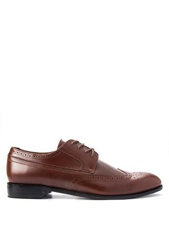 Antonio Manila brown Joshua Formal Shoes AN569SH0JD8APH_1