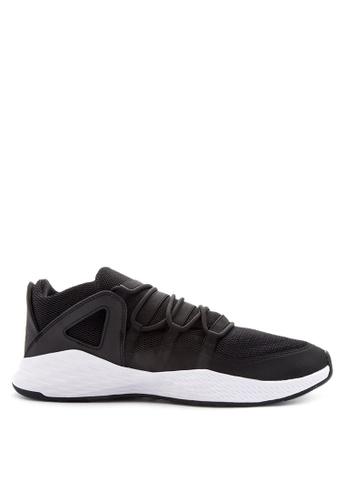 Nike black and white Men's Jordan Formula 23 Low Shoes NI126SH0JE81PH_1