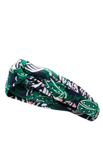 Pieces green Bibi Hairband 5DBAEACA5FCB2EGS_1
