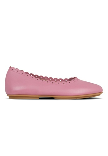 FitFlop pink Fitflop Allegro Floret Ballerinas Rose 98ECBSHFB18B8EGS_1