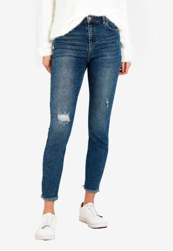 LC Waikiki blue High Waist Super Skinny Jeans 6AFFFAAA0ED591GS_1