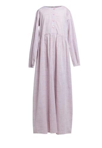 Little Heart white and pink Stripe Maxi Dress A907FKA1C00FD4GS_1