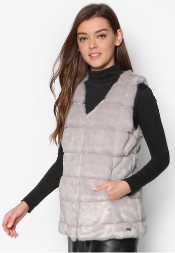 毛呢無esprit香港分店袖外套, 服飾, 服飾