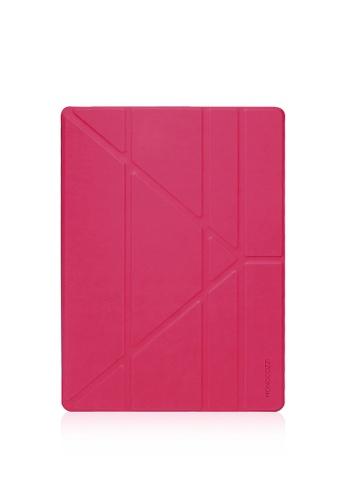 "Monocozzi pink Lucid - Translucent Folio For iPad Pro 12.9"" W/ Auto On-Off MO983AC69AHQHK_1"