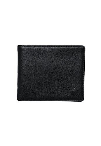 Nixon black Nixon - Pass Bi-Fold ID Wallet - All Black NI855AC53ZDQSG_1