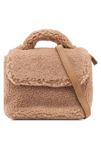 Berrybenka brown Sherina Octa Satchel Backpack 889CDACAB9DFE1GS_1